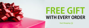 Free Gifts With Every Order